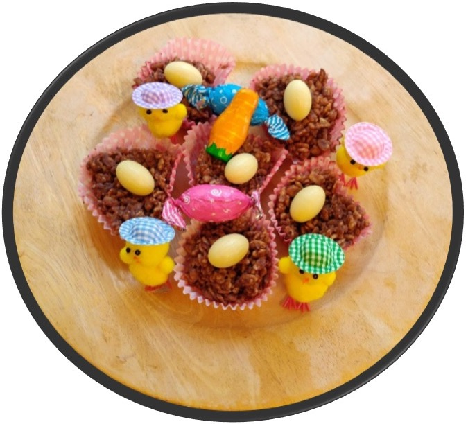 Easter Chocolate Cornflake Cakes