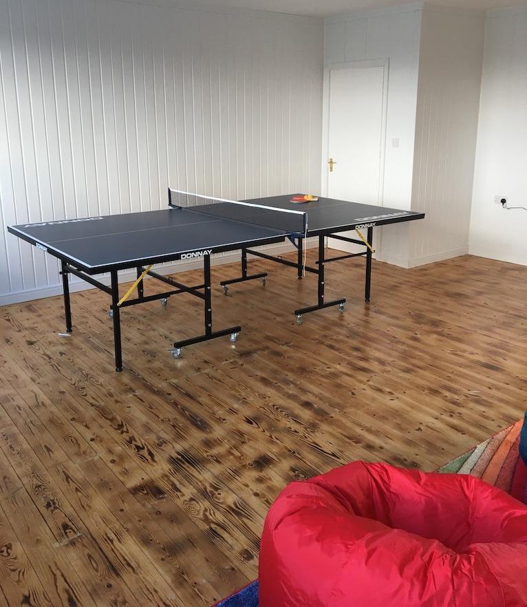 Cedars games room