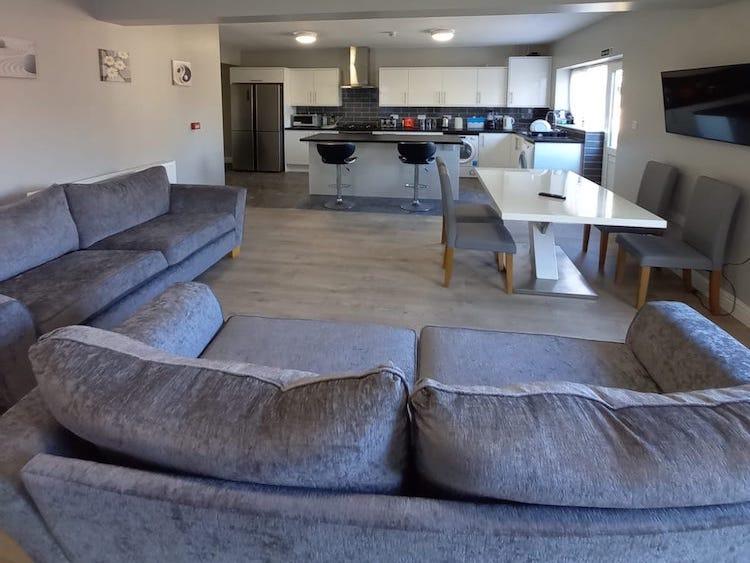 Oxney living area